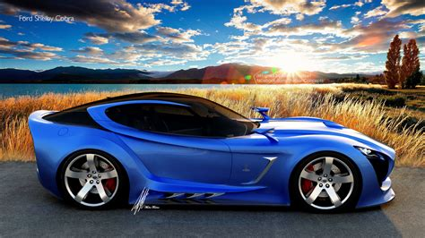 ford shelby cobra concept photography id