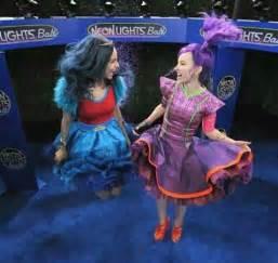 Evie and Mal Disney Neon Light Ball Descendants