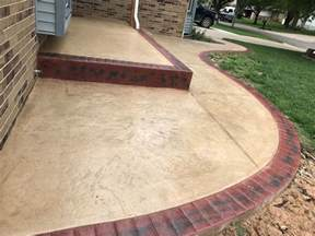front yard landscaping ideas patio design concrete