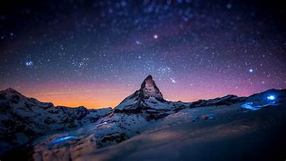 Night Mountain Wallpapers Mountains Snow Pixelstalk Amazing