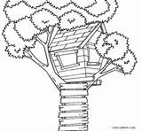 Coloring Pages Tree sketch template