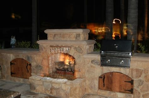 classic tuscany custom fireplace design in orange county