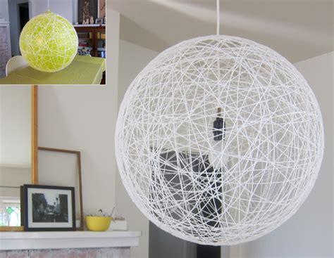 string pendant l diy light pendant diy w string http www pickles no whirl