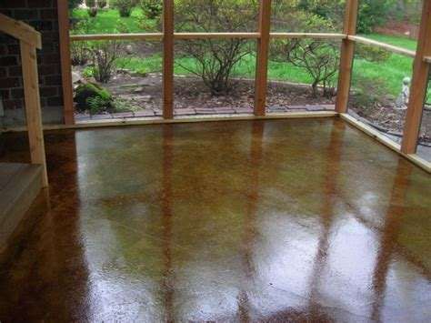 kansas city concrete staining acid stain