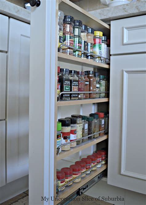 Pull Out Spice Rack Slides by Tips For Designing An Organized Kitchen