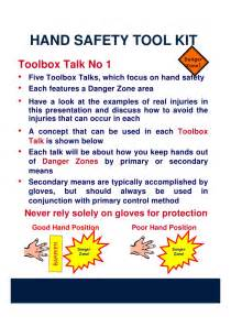Hand Tool Safety Toolbox Talk