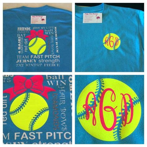 softball  shirt designs images  pinterest
