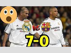 ريال مدريد & برشلونة 70 فوز كاسح لريال مدريد