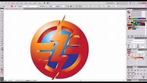 Adobe Illustrator 3D logo - YouTube