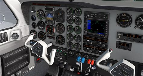 baron 58 plane beechcraft vr cockpit games mac flight aircraft screenshots simulator