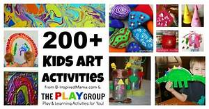 200+ Art Activities for Kids from The PLAY Group!