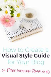 style guide template indesign for your blog momtepreneur With visual style guide template