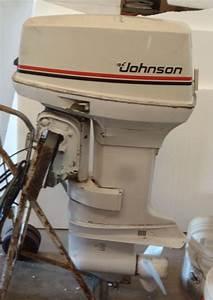 50 Horsepower Johnson Outboard Motor