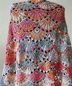 My Hobby Is Crochet  Rectangular Crochet Shawl