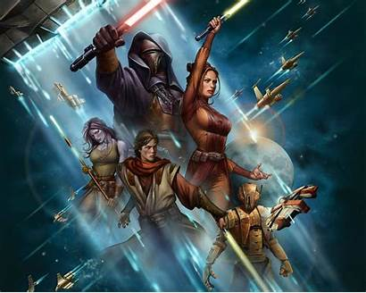 Wars Republic Knights Wallpapers Kotor Backgrounds Wallpaperaccess