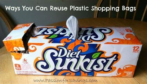 Ways You Can Reuse Plastic Shopping Bags  Passion For Savings