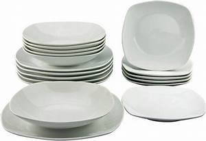 Teller Set Günstig : creatable teller set porzellan 18 teile square online kaufen otto ~ Orissabook.com Haus und Dekorationen