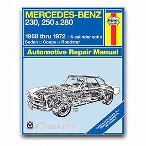 Mercedes 280sl Haynes Repair Manual Base Shop Service