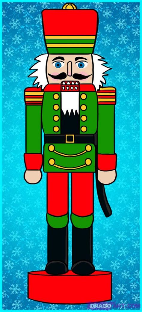 how to draw a nutcracker drawings clip craft and