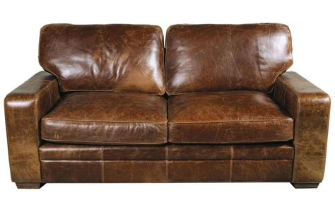 vintage leather loveseat retro brown leather sofa living room furniture polkadot 3236