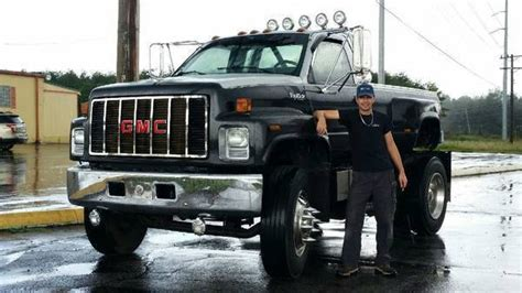 Gmc Topkick Custom Lifted Monster Truck With Cat Diesel