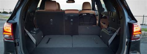 kia sorento cargo space  interior volume