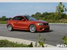 Valencia Orange BMW 1M Tuned By IND Distribution