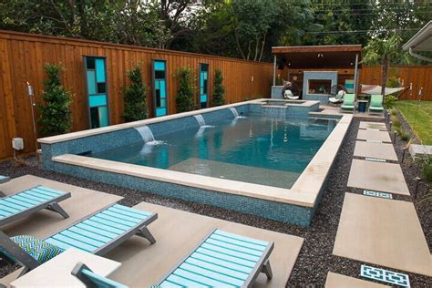 Pool Design Ideas by Best Dallas Rectangular Pool Builder Summerhill Pools