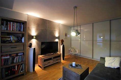 Wohnzimmer Betonoptik Best Mit Holz Stein Und Beton Style