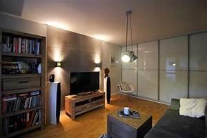 Bilder Modern Wohnzimmer : wohnzimmer betonoptik best mit holz stein und beton style your castle with wohnzimmer ~ Orissabook.com Haus und Dekorationen