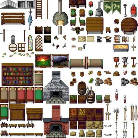 RPG Maker VX Ace Furniture | Mungfali
