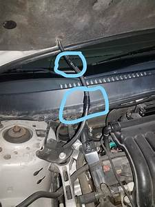 Windshield Washer Hose Keeps Getting Cut Why
