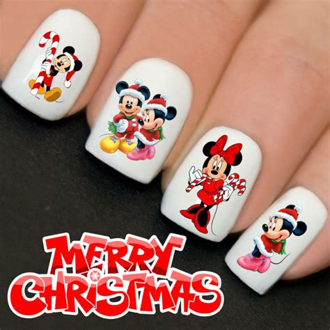 nails wraps nail art water transfers decals christmas