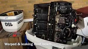 Johnson    Evinrude Outboard Float Bowl Problems