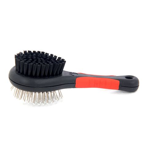 cat shedding comb sided pet brush cat hair grooming fur shedding