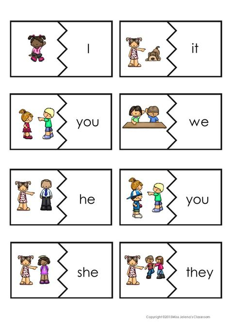 Top 25+ Best Pronoun Activities Ideas On Pinterest