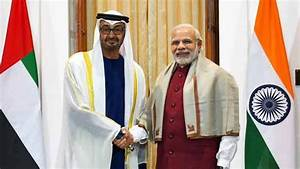India, UAE sign 7 agreements to step up bilateral ...