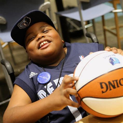 8 Year Old Boy With Cerebral Palsy Drafted By The Nba For