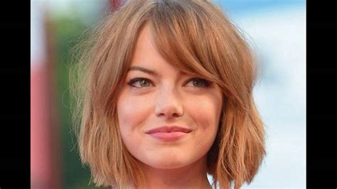 side swept bangs suits   short hair  face