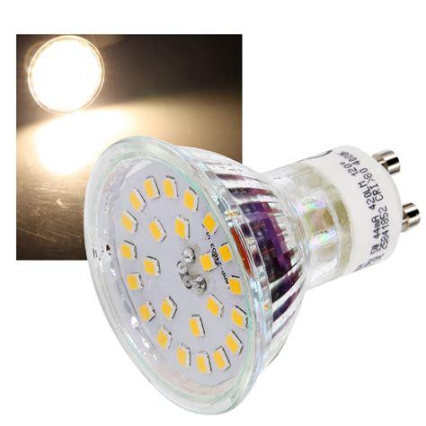 led strahler gu10 led strahler spot leuchtmittel gu10 230v mr16 120 176 5w 400lm licht le ebay