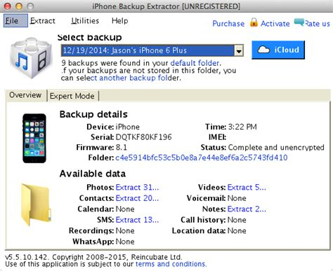 backup an iphone 2018 top 6 best iphone backup extractor itunes backup