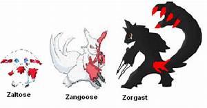 Pokemon Zangoose Evolution Images   Pokemon Images