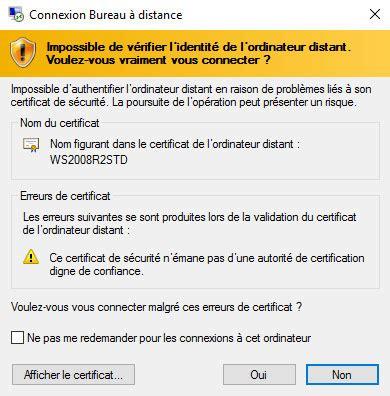 connexion bureau à distance impossible connexion bureau a distance impossible 28 images