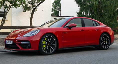 There's No Way You Can Miss A Red Porsche Panamera Turbo S