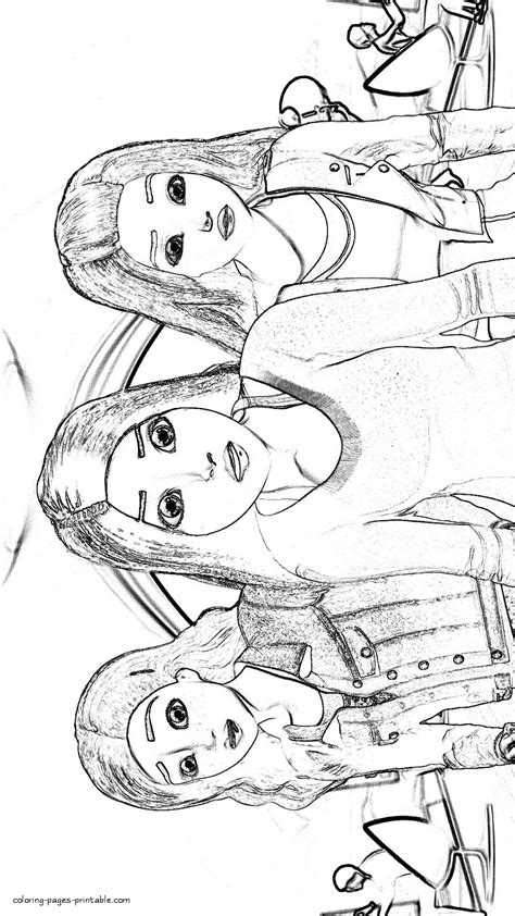 barbie teresa  renee coloring pages coloring pages printablecom