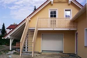zimmerei schindler holzrahmenbau dacher treppen With garten planen mit außentreppe für balkon