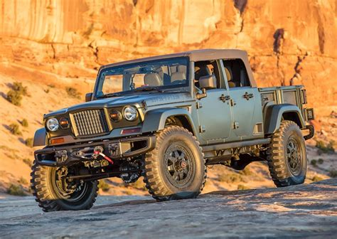 2016 Jeep Comanche Concept [video]