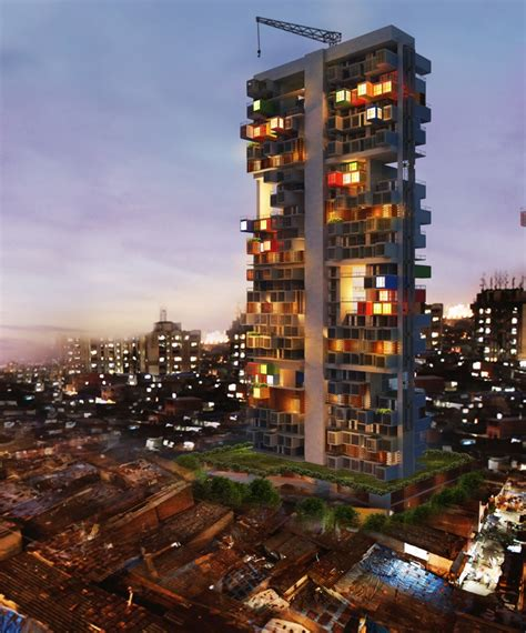 designer house plans shipping containers as housing solution in dharavi slum