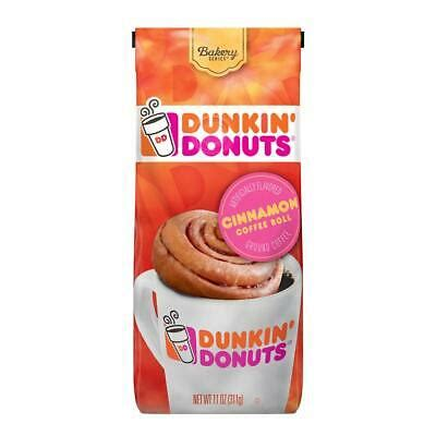 Come celebrate all day long at your local dunkin' donuts, where coffee loves donuts. Dunkin' Donuts Ground Coffee, Cinnamon Coffee Roll, 11 ...
