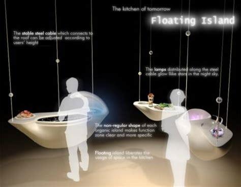 floating island kitchen the floating kitchen island concept slashgear 3775
